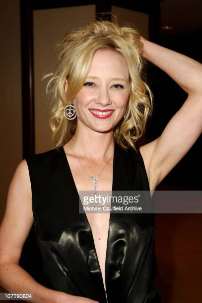 Anne Heche during 12th Annual Race to Erase MS CoChaired by Tommy Hilfiger and Nancy Davis Red Carpet at The Westin Century Plaza Hotel Spa in...