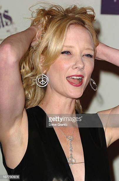 Anne Heche during 12th Annual Race to Erase MS CoChaired by Tommy Hilfiger and Nancy Davis Arrivals at Century Plaza Hotel in Century City California...