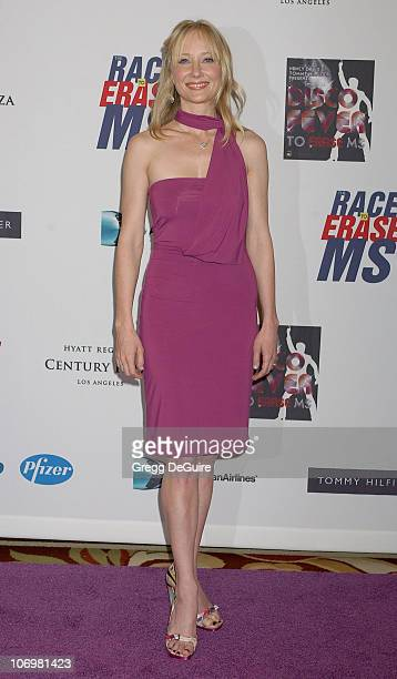 Anne Heche during 13th Annual Race to Erase MS Sponsored by Nancy Davis and Tommy Hilfiger Arrivals at Hyatt Regency Century Plaza in Century City...