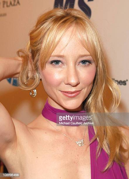 Anne Heche during 13th Annual Race to Erase MS Sponsored by Nancy Davis and Tommy Hilfiger Red Carpet at Hyatt Regency Century Plaza in Century City...