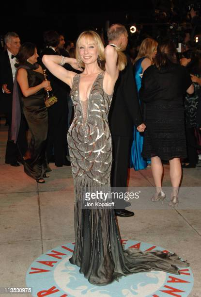 Anne Heche during 2006 Vanity Fair Oscar Party at Morton's in West Hollywood California United States
