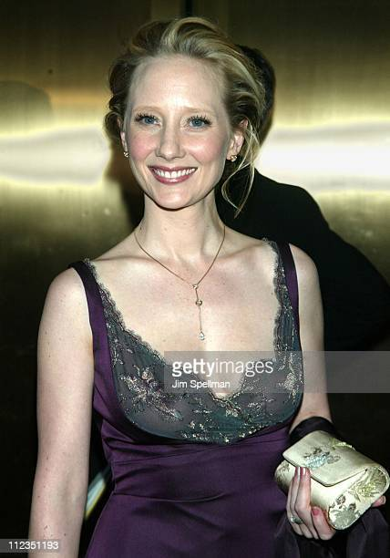 Anne Heche during 56th Annual Tony Awards Arrivals at Radio City Music Hall in New York City New York United States