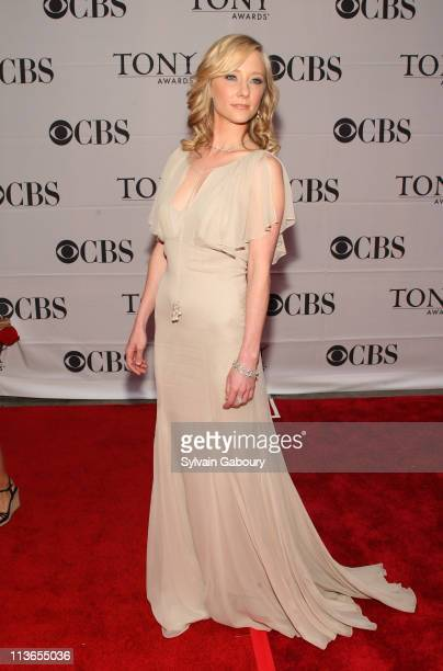 Anne Heche during 61st Annual Tony Awards - Arrivals at Radio City Music Hall in New York City, New York, United States.