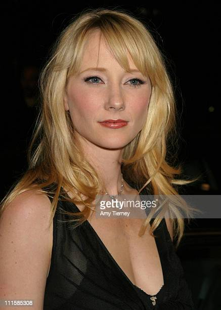 Anne Heche during Academy of TV Arts and Sciences Honor 56th Annual Emmy Nominees at Spago in Los Angeles California United States