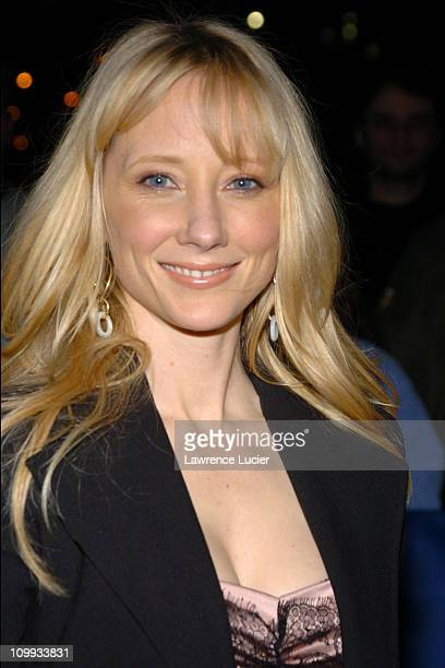 Anne Heche during Anne Heche and Richard Hatch Arrives for Taping of The Late Show with David Letterman at Ed Sullivan Theater in New York City New...