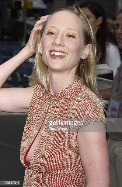 Anne Heche during Broadway Stars Perform at 'Broadway on Broadway' in Times Square at Times Square in New York City New York United States