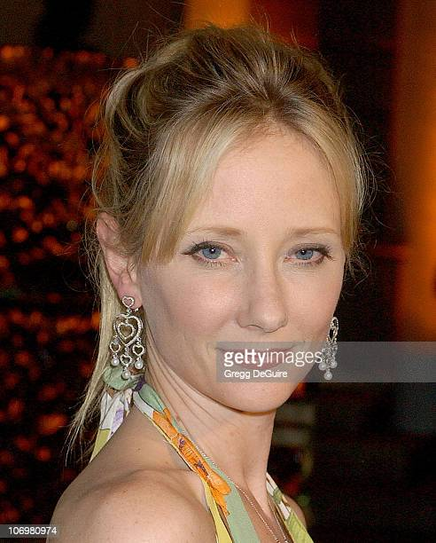 Anne Heche during Fashion Designer Roberto Cavalli Celebrates The Launch Of Roberto Cavalli Vodka Arrivals at Private Residence in Holmby Hills...