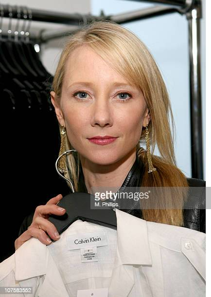 Anne Heche during GQ / Calvin Klein Celebrity Poker Tournament Benefiting Peace Games - Calvin Klein Gift Lounge at Private Residence in Los Angeles,...