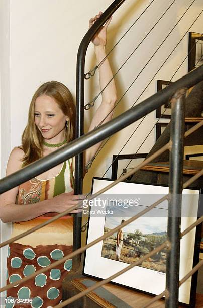 Anne Heche during Life's Not Still Benefiting the Huckleberry Fund at Bergamot Station in Santa Monica California United States