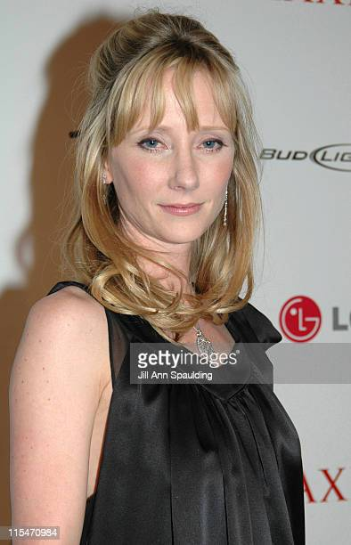 Anne Heche during Maxim Magazine 100th Birthday Celebration Arrivals at Tryst at Wynn Las Vegas in Las Vegas Nevada United States