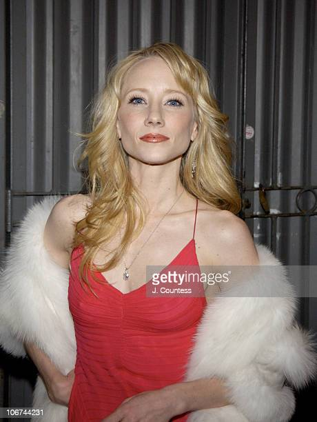 Anne Heche during Opening Night of Roundabout Theatre Company's Broadway Production of Twentieth Century at American Airlines Theatre in New York...