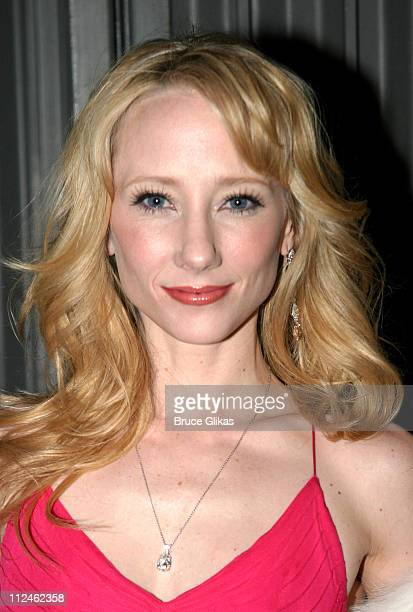 Anne Heche during Opening Night of Twentieth Century on Broadway at The American Airlines Theater/ The China Club in New York NY United States