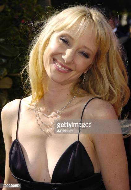 Anne Heche during The 56th Annual Primetime Emmy Awards Red Carpet at The Shrine Auditorium in Los Angeles California United States