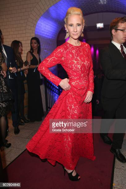 Anne Heche during the BUNTE BMW Festival Night 2018 on the occasion of the 68th Berlinale International Film Festival Berlin at Restaurant...