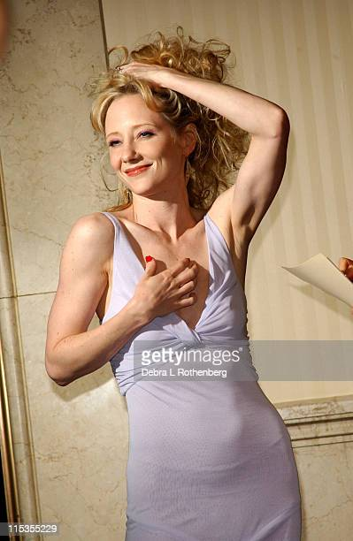 Anne Heche during The First Annual 'Show People' Tony Awards Party at Gotham Hall in New York City New York United States