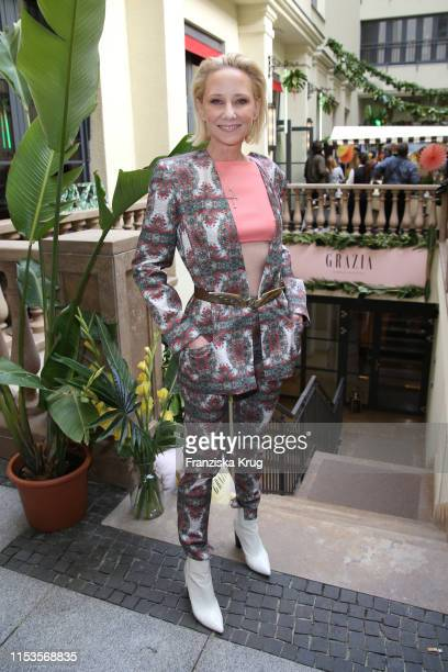 Anne Heche during the Grazia Fashion Night at Titanic Hotel on July 3 2019 in Berlin Germany