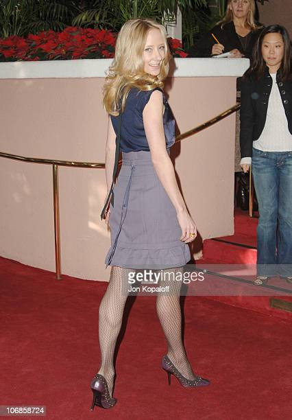 Anne Heche during The Hollywood Reporter's Women in Entertainment Power 100 Breakfast Sponsored by LIfetime Arrivals at Beverly Hills Hotel in...