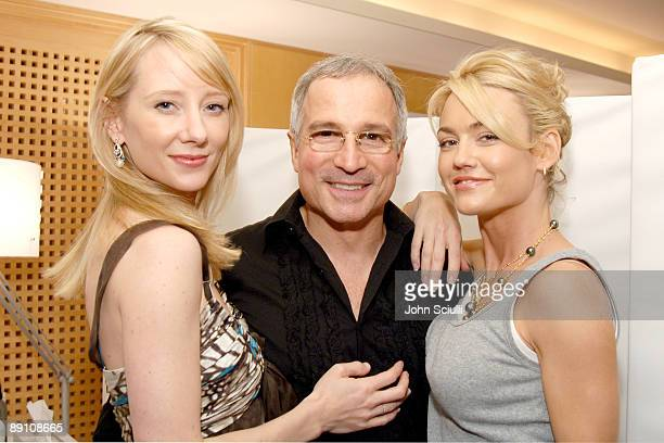 Anne Heche Enzo Angileri and Kelly Carlson at Biolage