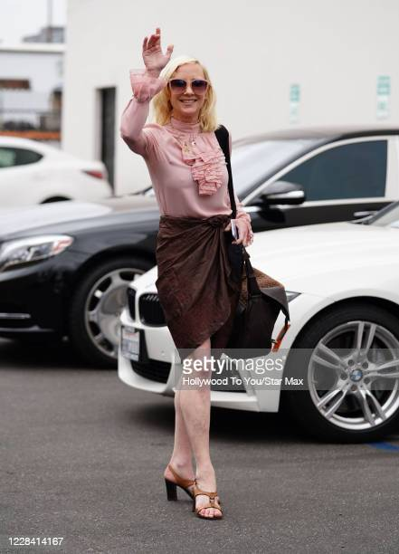 "Anne Heche is seen arriving for ""Dancing With The Stars"" Season 29 rehearsals on September 08, 2020 in Los Angeles, California."