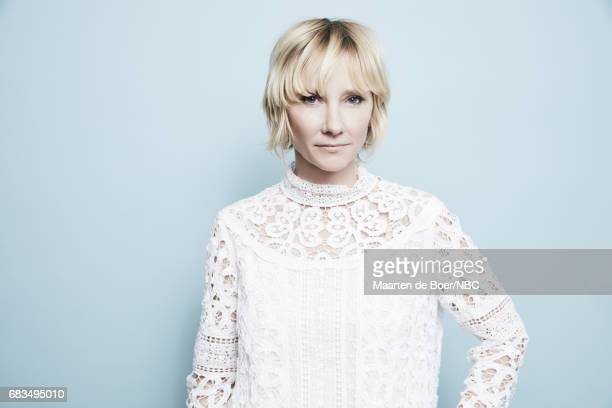 Anne Heche of The Brave poses for a photo during NBCUniversal Upfront Events Season 2017 Portraits Session at Ritz Carlton Hotel on May 15 2017 in...