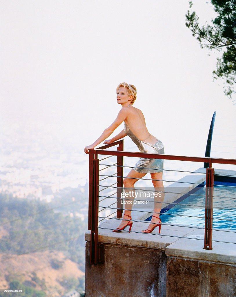 Anne Heche, Los Angeles Magazine, 1998 : News Photo