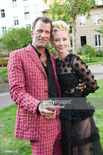 Anne Heche Thomas Jane at the Klambt Style Cocktail at la soupe populaire CANTEEN on July 2 2019 in Berlin Germany