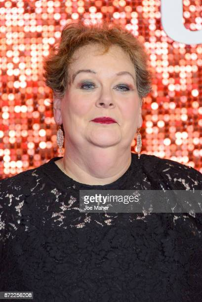 Anne Hegerty arriving at the ITV Gala held at the London Palladium on November 9 2017 in London England