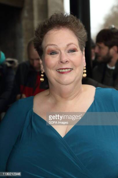 Anne Hegerty at The TRIC Awards at Grosvenor House Park Lane