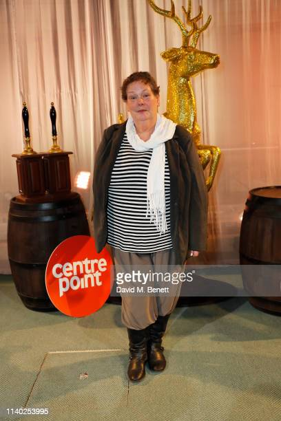 Anne Hegerty attends Centrepoint's annual Ultimate Pub Quiz at St Mary's Church on April 03 2019 in London England