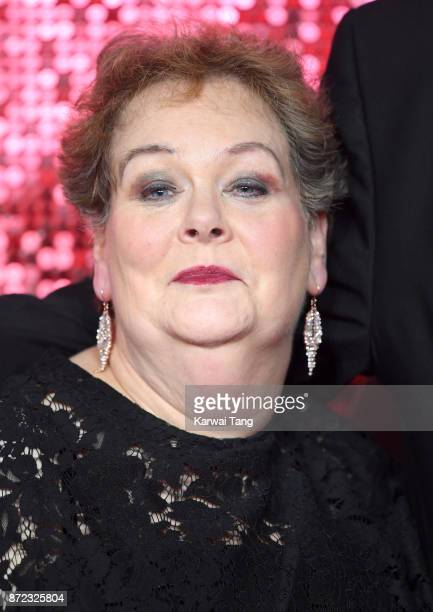 Anne Hegerty attends the ITV Gala at the London Palladium on November 9 2017 in London England