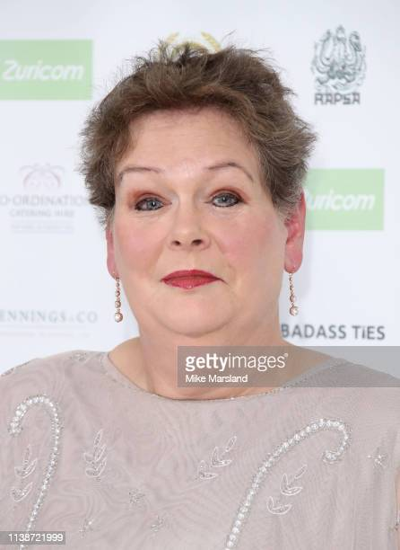 Anne Hegerty attends the National Film Awards at Porchester Hall on March 27 2019 in London England