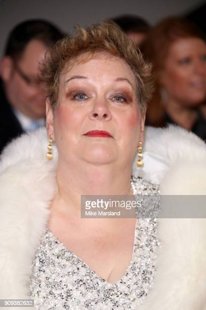Anne Hegerty attends the National Television Awards 2018 at The O2 Arena on January 23 2018 in London England