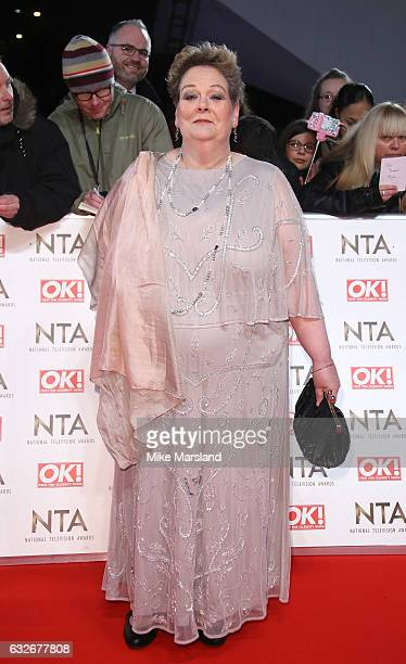 Anne Hegerty attends the National Television Awards at The O2 Arena on January 25 2017 in London England