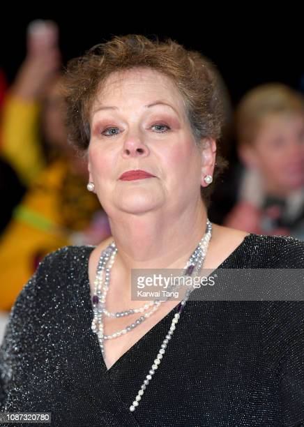 Anne Hegerty attends the National Television Awards held at The O2 Arena on January 22 2019 in London England
