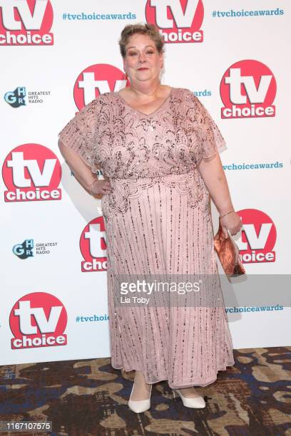 Anne Hegerty attends The TV Choice Awards 2019 at Hilton Park Lane on September 9 2019 in London England