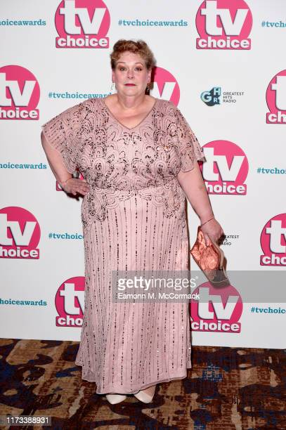 Anne Hegerty attends The TV Choice Awards 2019 at Hilton Park Lane on September 09 2019 in London England