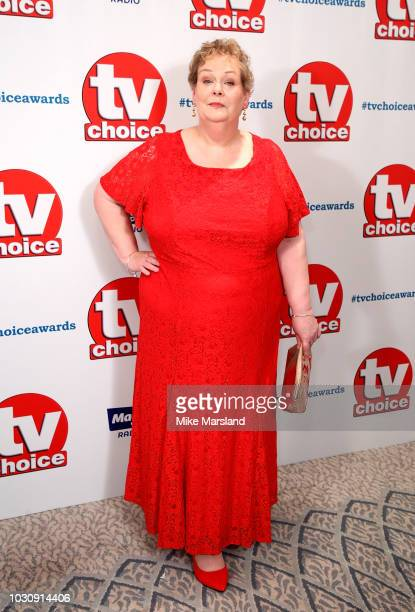 Anne Hegerty attends the TV Choice Awards at The Dorchester on September 10 2018 in London England