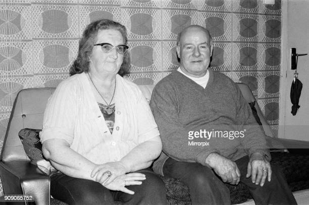 Anne Henry Eve parents of Terence Eve of Dagenham who is another man missing from the area London 8th January 1975 Police Investigation into...