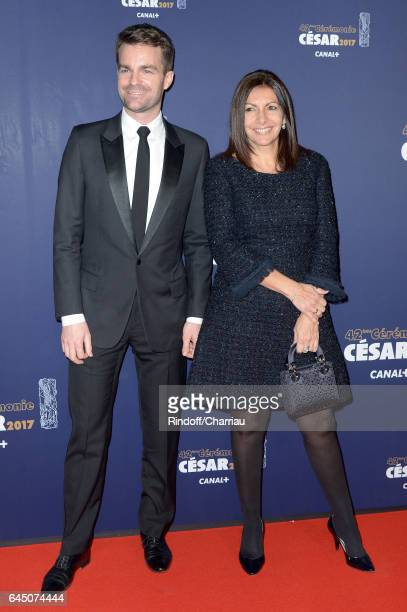 Anne Hidalgo arrives at the Cesar Film Awards Ceremony at Salle Pleyel on February 24 2017 in Paris France
