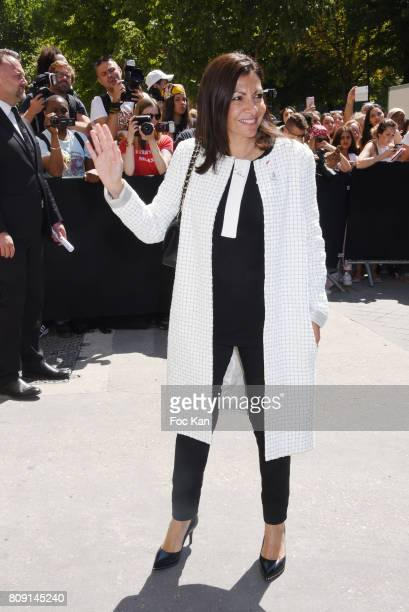 Anne Hidalgo attends the Chanel Haute Couture Fall/Winter 20172018 show as part of Paris Fashion Week on July 4 2017 in Paris France