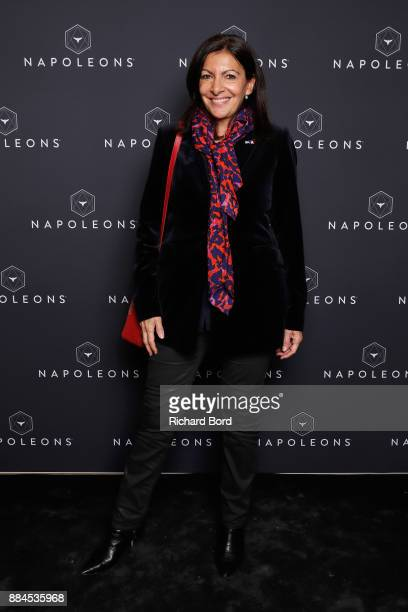 Anne Hidalgo attends the Introductory Session To The 7th Summit Of Les Napoleons at Maison de la Radio on December 2, 2017 in Paris, France.