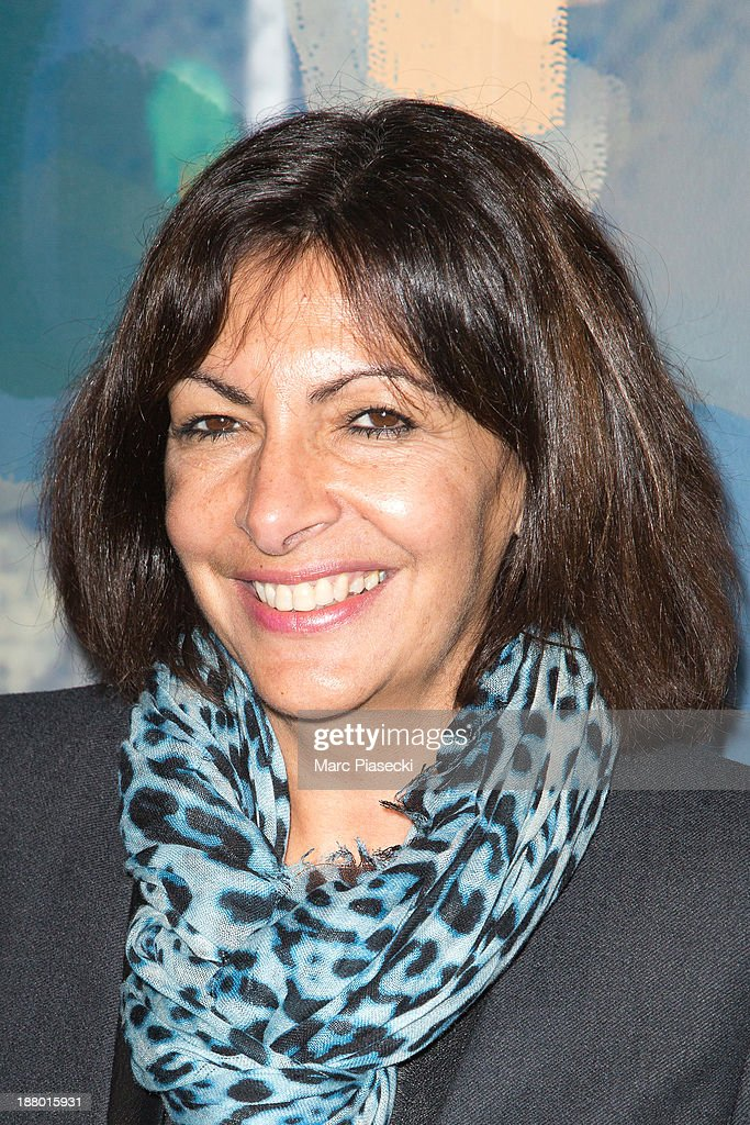 Anne Hidalgo attends the 'Pixar, 25 years of animation' exhibition on November 14, 2013 in Paris, France.