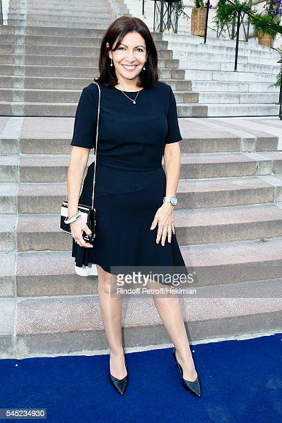 Anne Hidalgo attends the Soiree Haute Couture as part of Paris Fashion Week at Le Petit Palais on July 6 2016 in Paris France