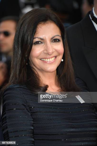 Anne Hidalgo attends the 'The Beguiled' screening during the 70th annual Cannes Film Festival at Palais des Festivals on May 24 2017 in Cannes France