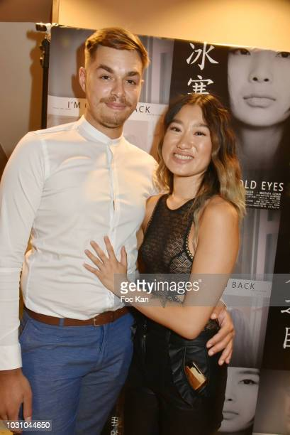 Anne Hui Zhan and Timothy Maximo attend the Mustafa Ozgun 3 Short Movies Screening At Studio Etoile on September 10 2018 in Paris France