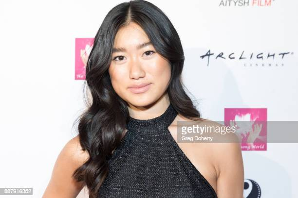 Anne Hui Zhan French actress and model attends the 3rd annual Asian World Film Festival Opening night in Los Angeles on October 25th 2017 in Culver...