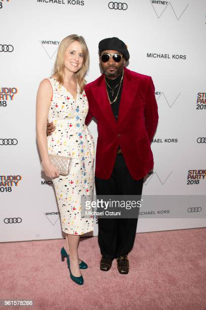 Anne Huntington and Antwaun Sargent attend the Whitney Museum Celebrates The 2018 Annual Gala And Studio Party at The Whitney Museum of American Art...