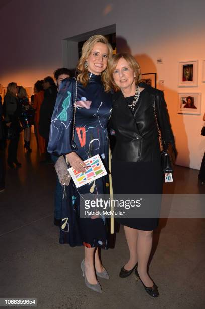 Anne Huntington and Eileen Huntington attend 24th Annual ARTWALK NY at Spring Studios on November 28 2018 in New York City