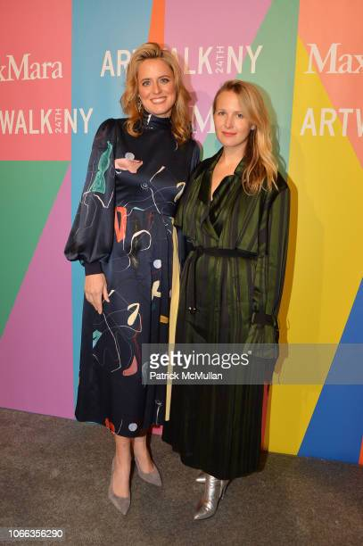 Anne Huntington and guest attend 24th Annual ARTWALK NY at Spring Studios on November 28 2018 in New York City