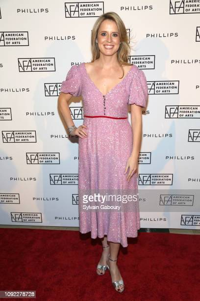 Anne Huntington attends American Federation Of Arts 2018 Gala at Guastavino's on November 8 2018 in New York City